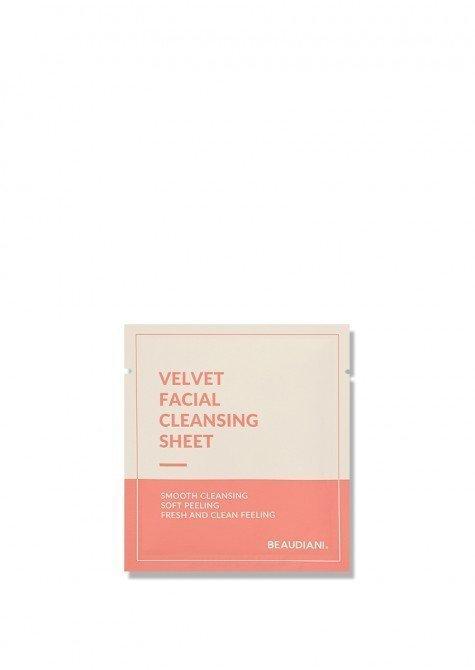 velvet facial cleansing sheet