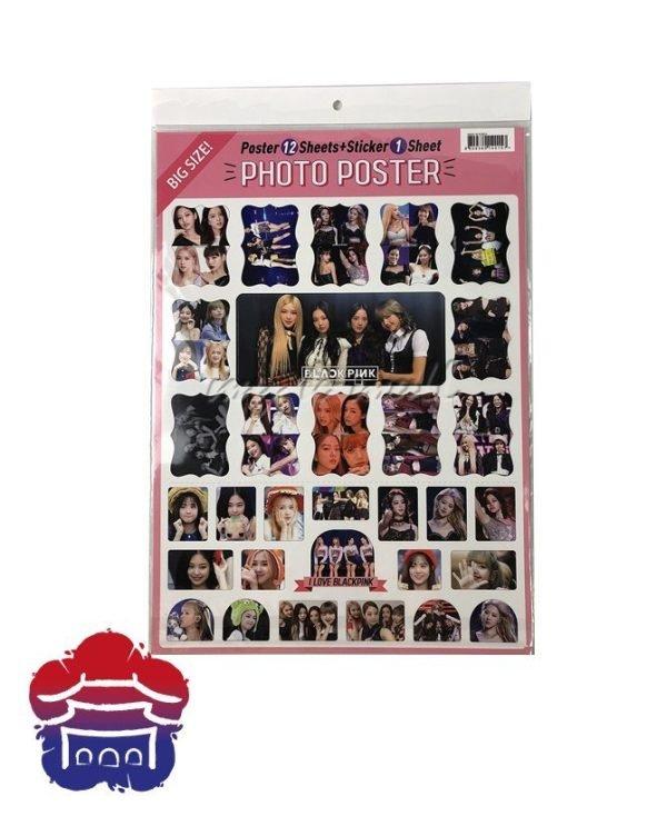 black pink calendario2